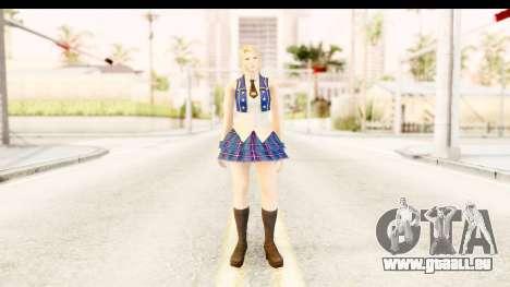 DoA 5 - Sarah Pop Idol für GTA San Andreas zweiten Screenshot