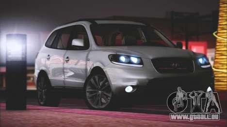 Hyundai Santa Fe Stock für GTA San Andreas