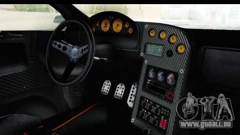 GTA 5 Pegassi Reaper v2 SA Lights für GTA San Andreas Innenansicht