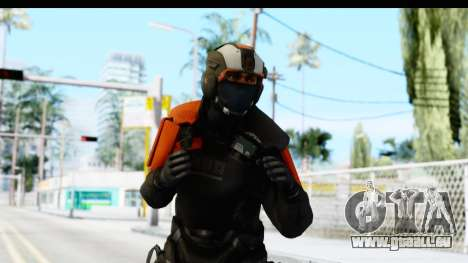 Homefront The Revolution - KPA v4 Black für GTA San Andreas
