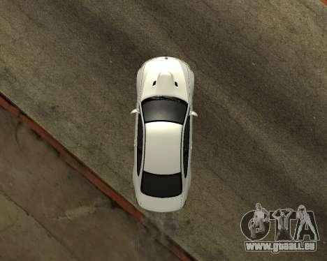 BMW M3 Armenian pour GTA San Andreas vue de droite