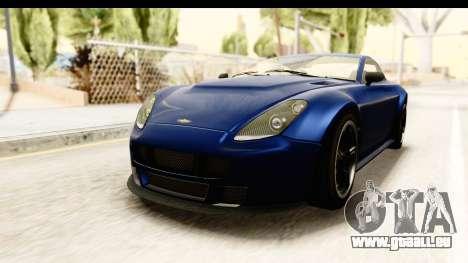 GTA 5 Dewbauchee Rapid GT pour GTA San Andreas