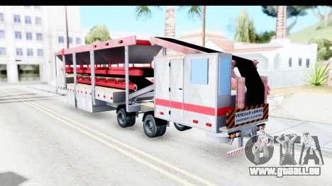 Trailer Brasil v6 für GTA San Andreas linke Ansicht