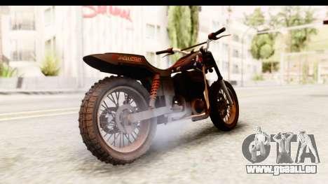 GTA 5 Western Cliffhanger Custom v2 pour GTA San Andreas laissé vue