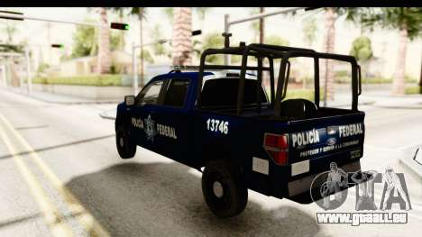 Ford F-150 Federal Police für GTA San Andreas linke Ansicht