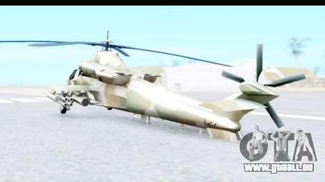 Denel AH-2 Rooivalk für GTA San Andreas linke Ansicht