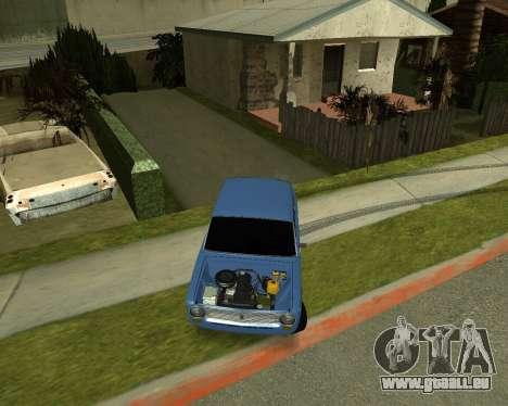 VAZ 2101 Armenian pour GTA San Andreas laissé vue