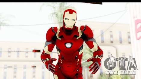 Marvel Heroes - Ironman Mk46 pour GTA San Andreas