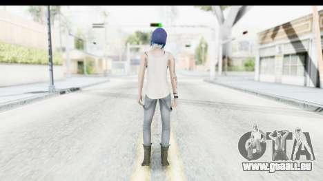 Life is Strange Episode 3 - Chloe Shirt für GTA San Andreas dritten Screenshot