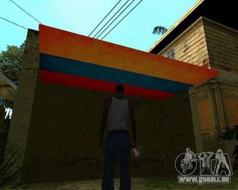 Garage CJ Armenischen für GTA San Andreas dritten Screenshot