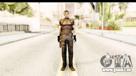 Resident Evil 4 Ultimate - Leon S. Kennedy pour GTA San Andreas deuxième écran