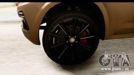 GTA 5 Benefactor XLS IVF pour GTA San Andreas vue arrière
