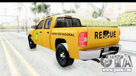 Chevrolet Silvedaro Basarnas für GTA San Andreas linke Ansicht
