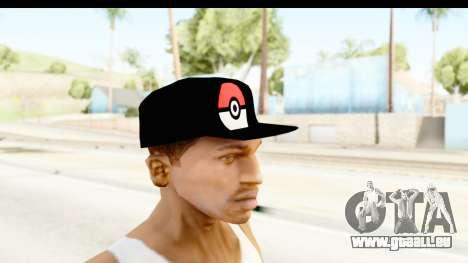 Cap Pokemon Pokeball pour GTA San Andreas