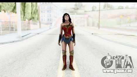 Injustice God Among Us - Wonder Woman BVS für GTA San Andreas zweiten Screenshot