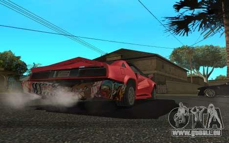 Buffalo (Tunning) pour GTA San Andreas vue de droite