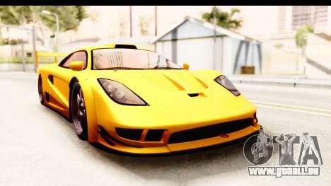 GTA 5 Progen Tyrus SA Style pour GTA San Andreas laissé vue