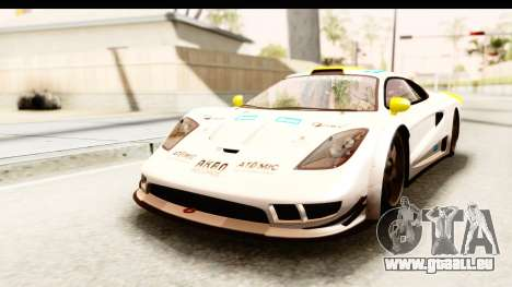 GTA 5 Progen Tyrus SA Style pour GTA San Andreas moteur
