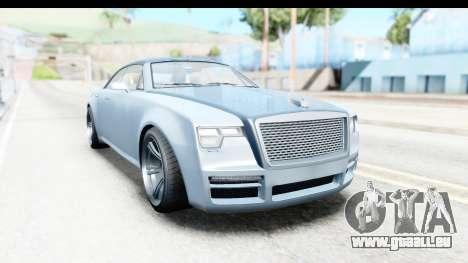 GTA 5 Enus Windsor Drop IVF für GTA San Andreas rechten Ansicht