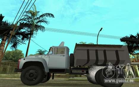 ZIL-130 Armenien für GTA San Andreas linke Ansicht