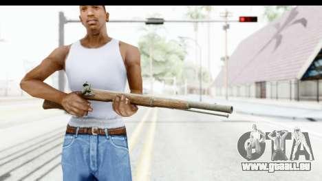 GTA 5 Musket pour GTA San Andreas troisième écran