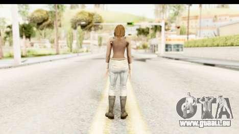 Helena Casual Skin pour GTA San Andreas troisième écran