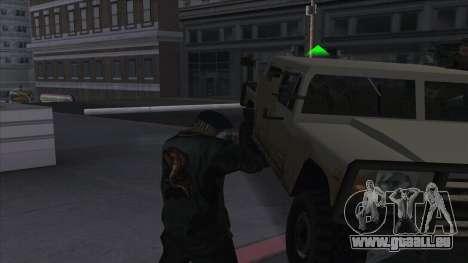 WantedLevel pour GTA San Andreas troisième écran