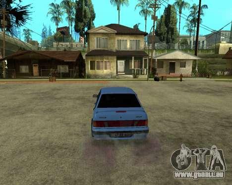 VAZ 21015 ARMENIAN für GTA San Andreas Rückansicht
