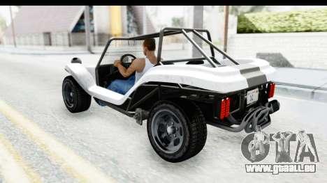 GTA 5 BF Bifta v2 SA Style für GTA San Andreas Innenansicht