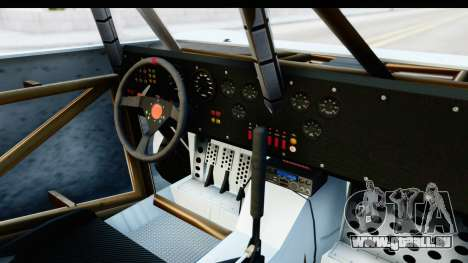 GTA 5 Trophy Truck SA Lights PJ pour GTA San Andreas vue intérieure