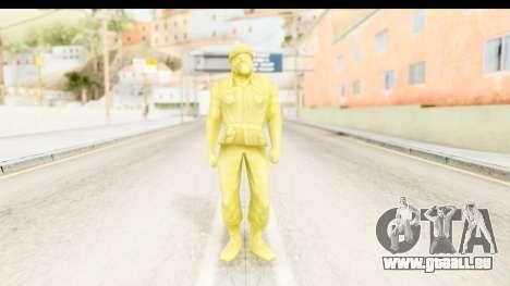 ArmyMen: Serge Heroes 2 - Man v5 für GTA San Andreas zweiten Screenshot