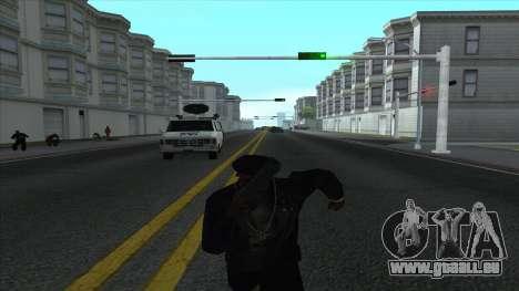 Newsvan Follow You pour GTA San Andreas cinquième écran
