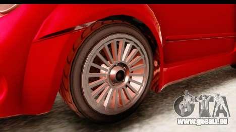 GTA 5 Grotti Brioso IVF pour GTA San Andreas vue de droite
