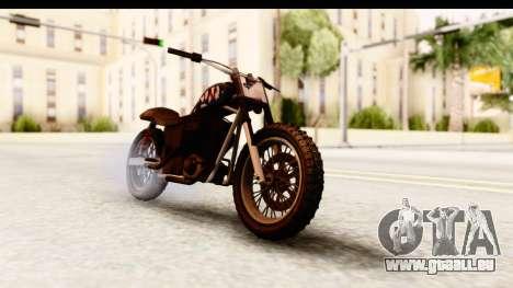 GTA 5 Western Cliffhanger Custom v2 pour GTA San Andreas