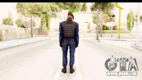 Bahrain Officer v2 für GTA San Andreas dritten Screenshot