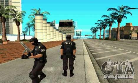 NextGen changé l'origine de la peau de SWAT pour GTA San Andreas deuxième écran