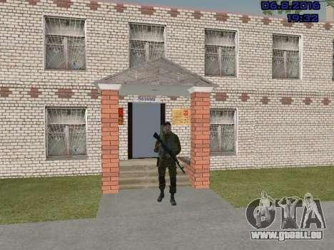 Policier pour GTA San Andreas troisième écran