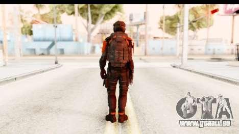 Homefront The Revolution - KPA v3 Black pour GTA San Andreas troisième écran