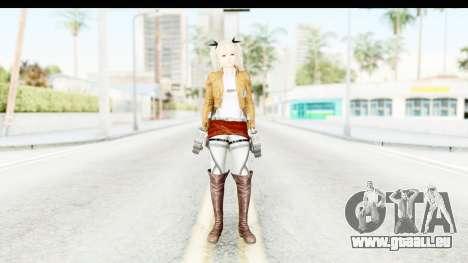 DoA 5: LR - Marie Rose (A.O.T DLC) für GTA San Andreas zweiten Screenshot