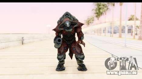 DOOM 3 - Cyberdemon pour GTA San Andreas deuxième écran