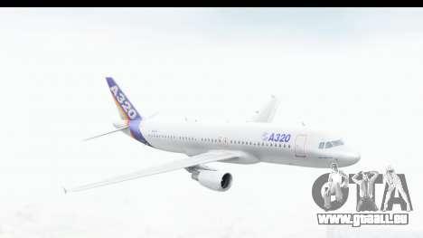 Airbus A320-200 Industrie MSN 1 1987 First Fligh für GTA San Andreas