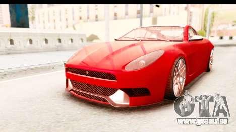 GTA 5 Ocelot Lynx IVF pour GTA San Andreas
