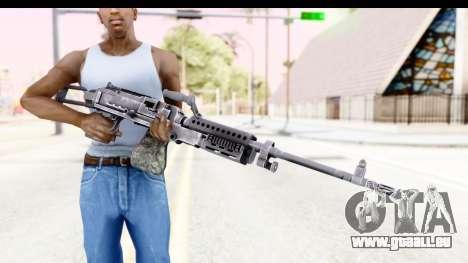 M240 FSK No Attachments pour GTA San Andreas troisième écran