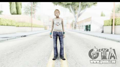Silent Hill 3 - Heather Sporty White Delicious für GTA San Andreas zweiten Screenshot