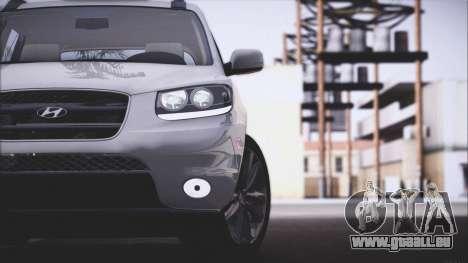 Hyundai Santa Fe Stock für GTA San Andreas rechten Ansicht