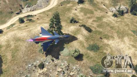 GTA 5 J-10A SY Aerobatic Team Siebter Screenshot