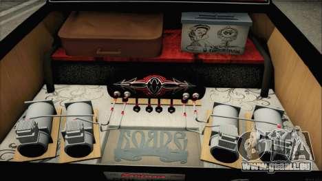 GAS-24 Nobles für GTA San Andreas Innenansicht
