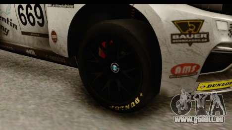BMW M235i Coupe pour GTA San Andreas vue arrière