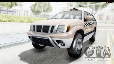 GTA 5 Canis Seminole Taxi Saints Row 4 pour GTA San Andreas
