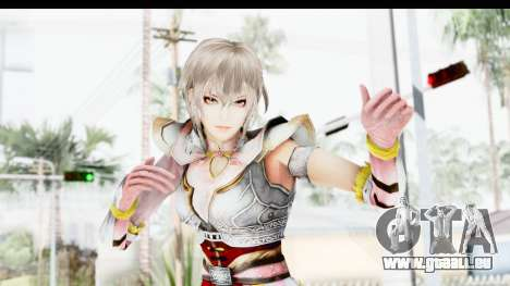 Dynasty Warriors 8 Xtreme Legends Lu Lingqi 2 pour GTA San Andreas